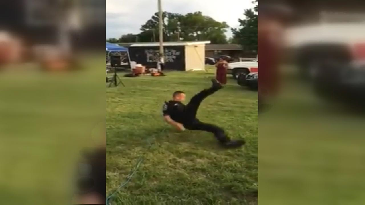 TN Officer Breakdancing