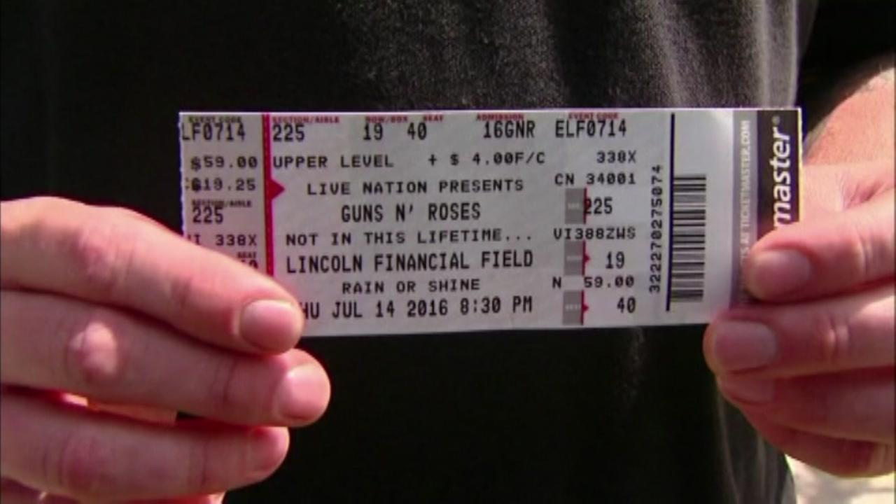 Lost concert tickets returned