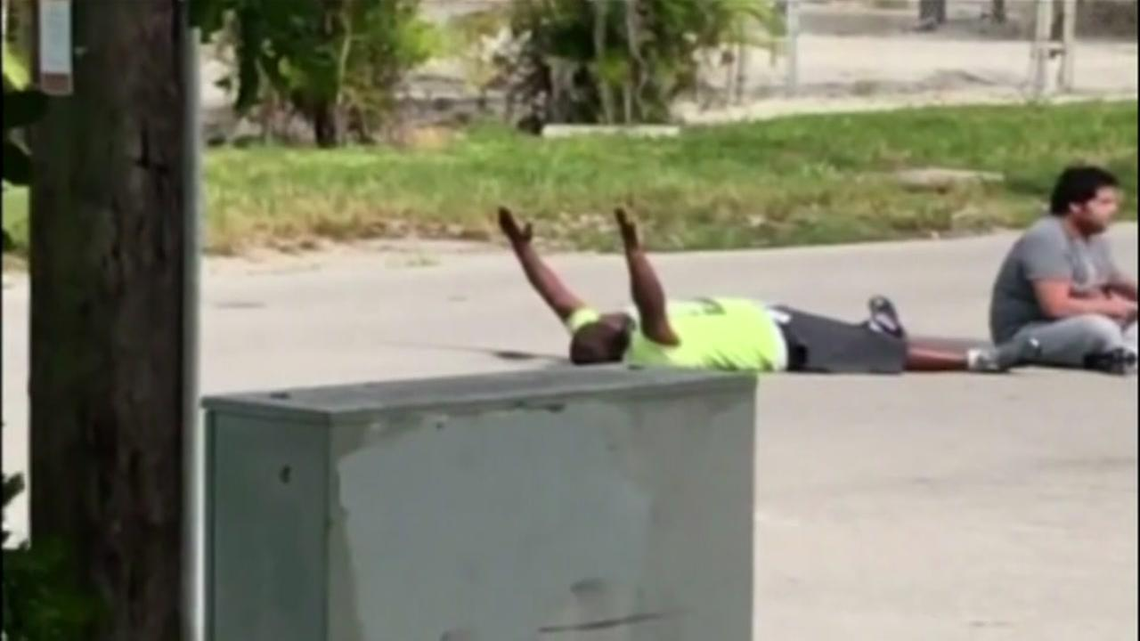 Autistic mans black caretaker shot