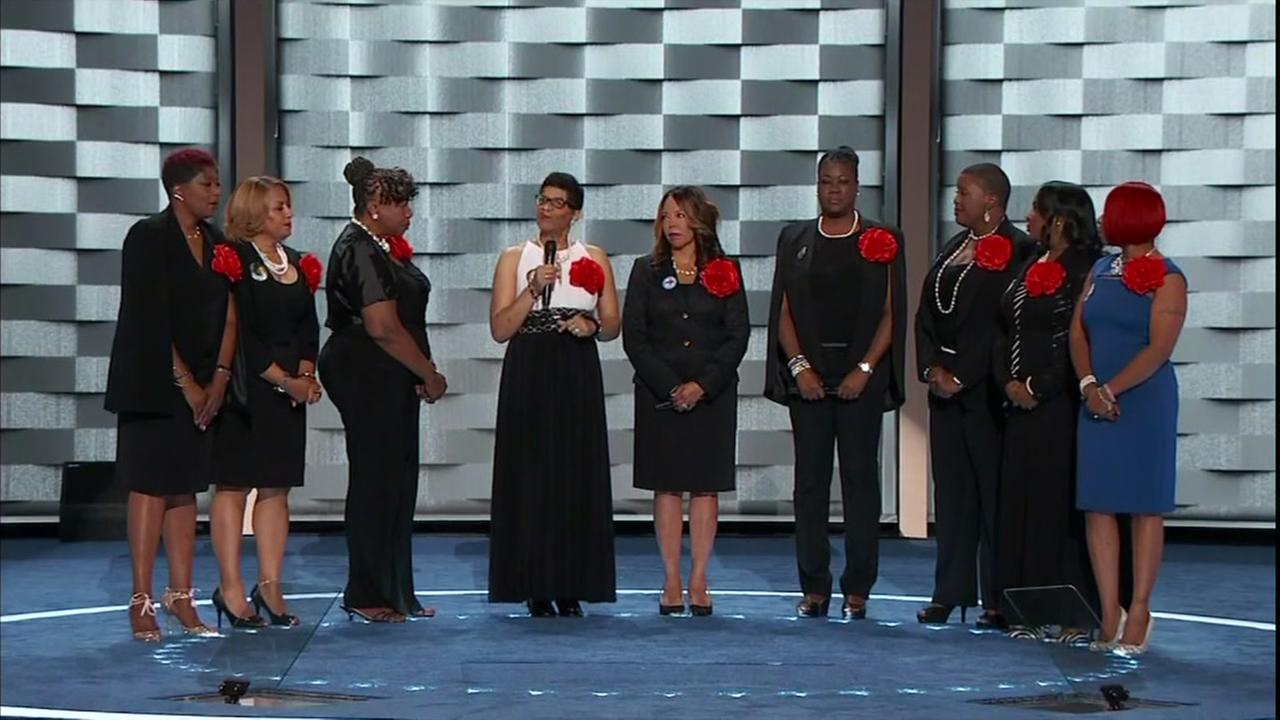 Mothers of the Movement speak at DNC
