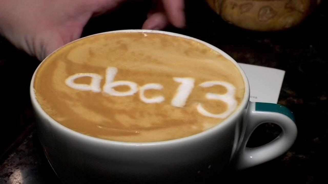 Montrose barista is a latte art whiz