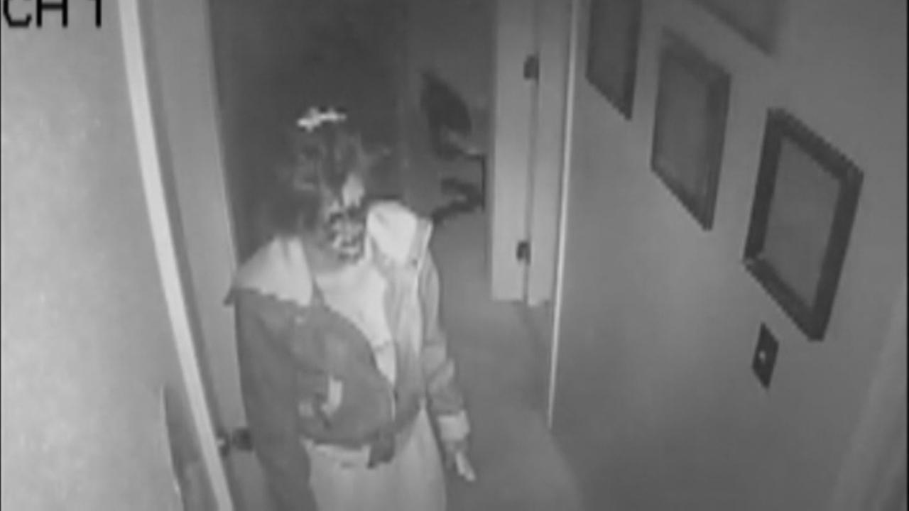 VIDEO: Woman robs home while family sleeps