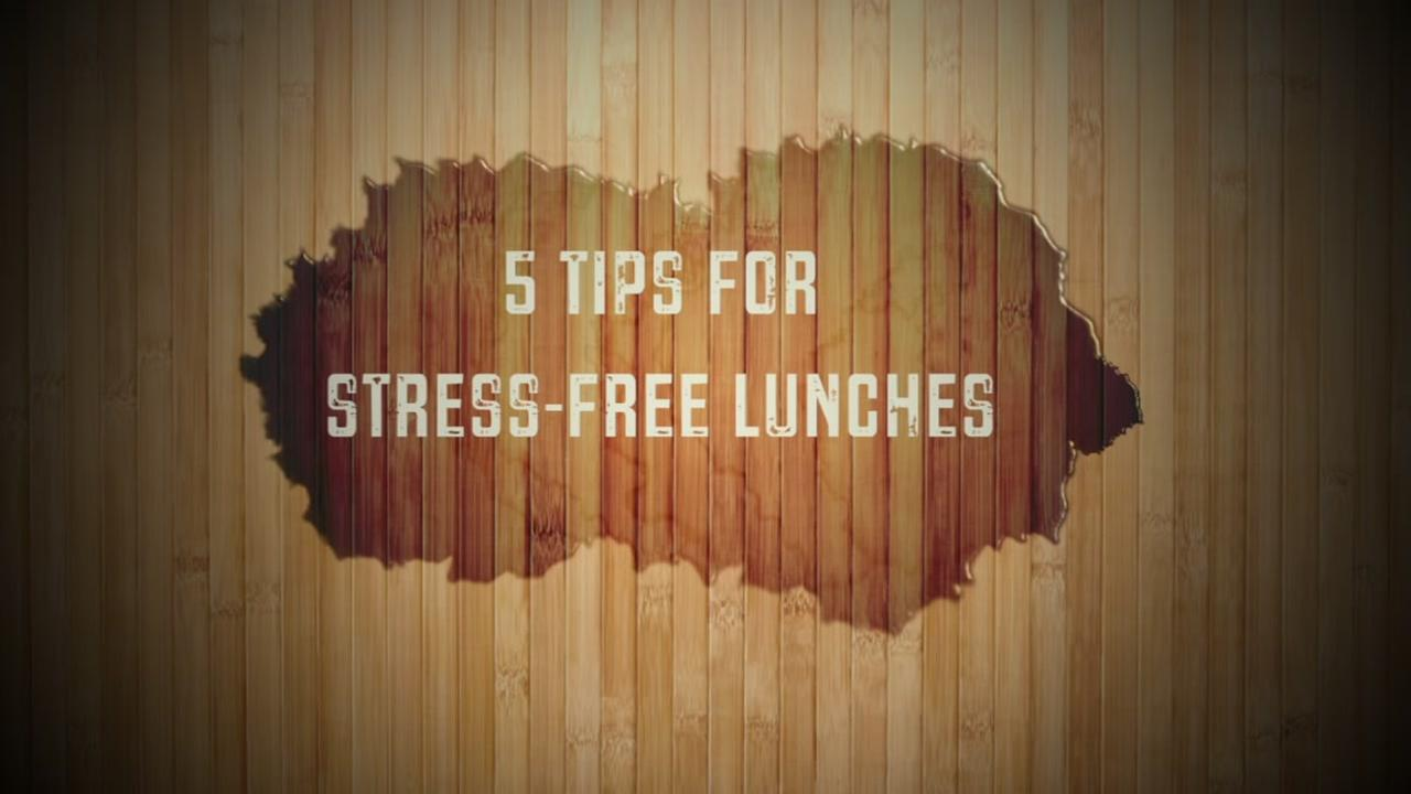 Try these lunch time hacks