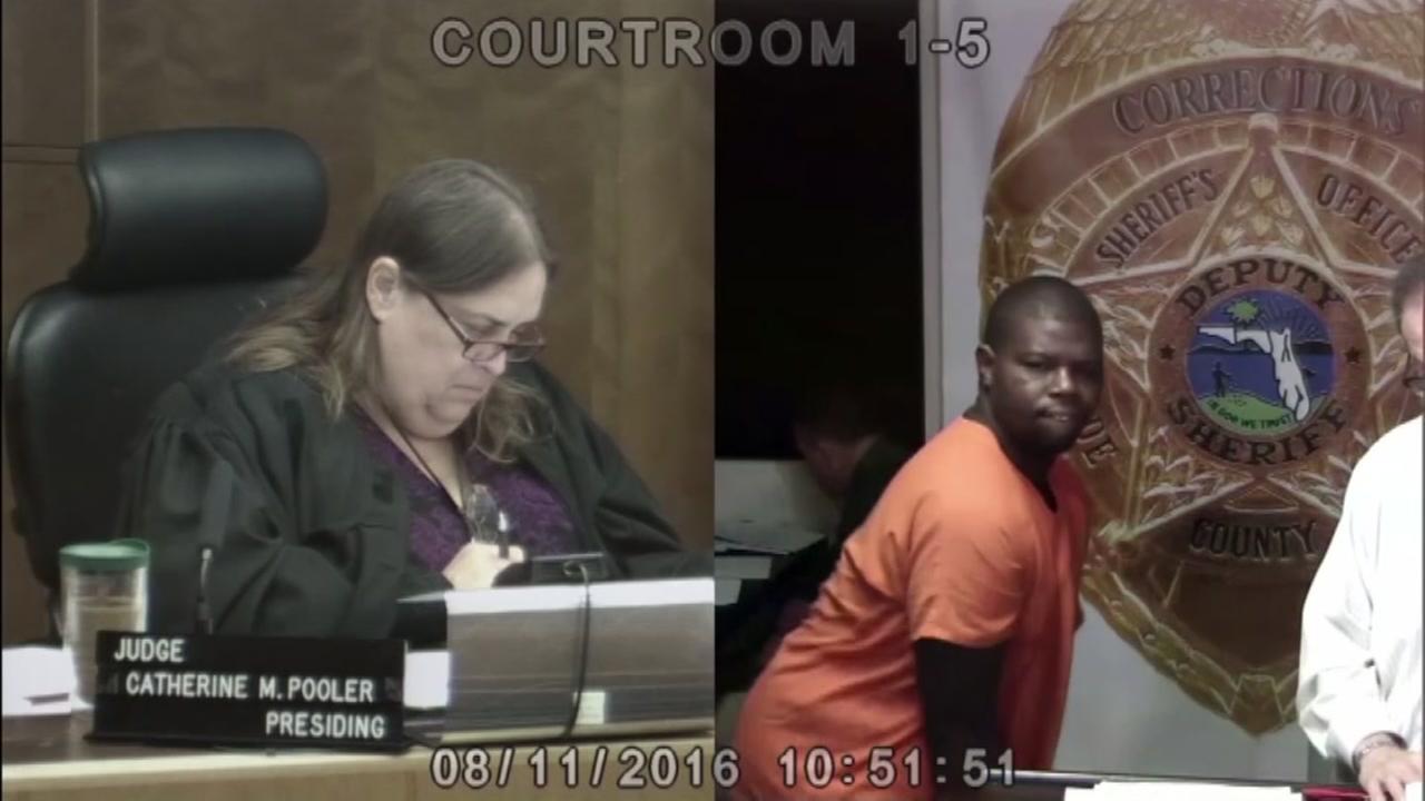 Man twerks to get judges attention
