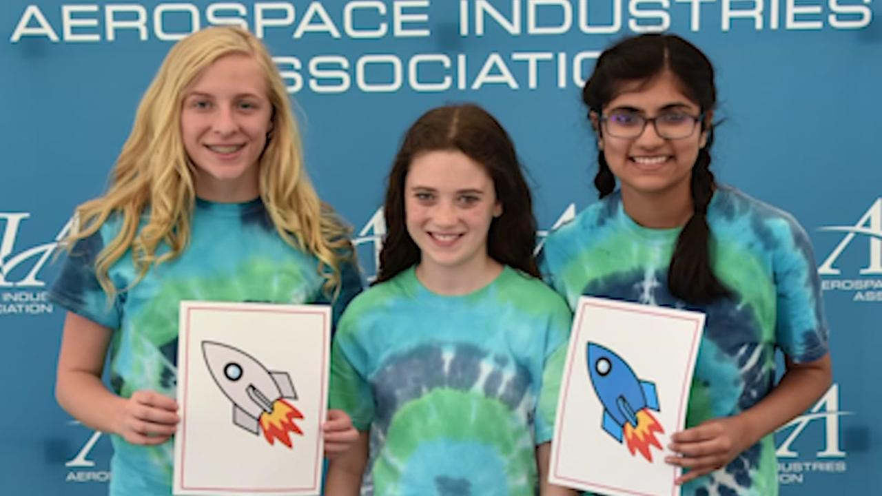 Local teens place in national rocket competition