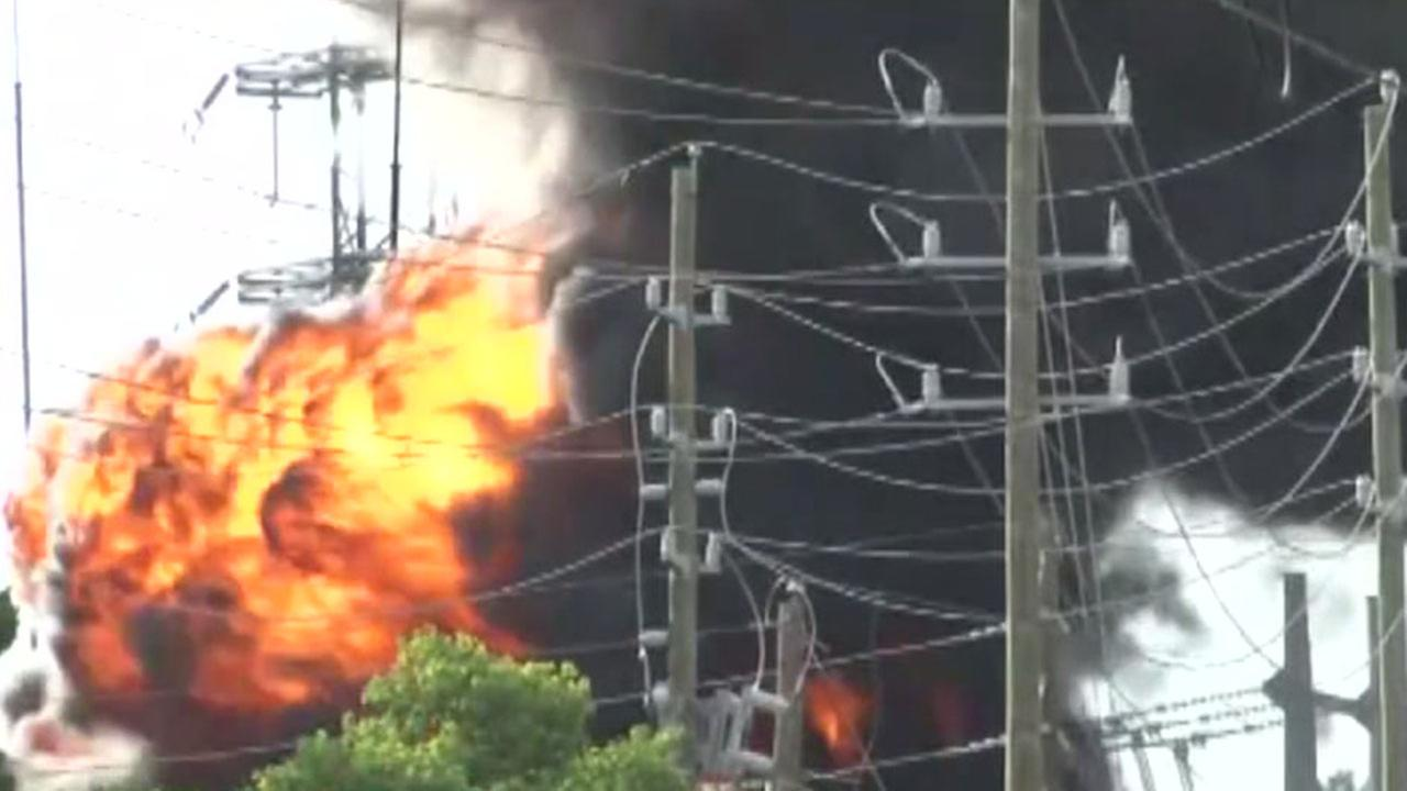 Fire at CenterPoint Energy substation causes massive outages