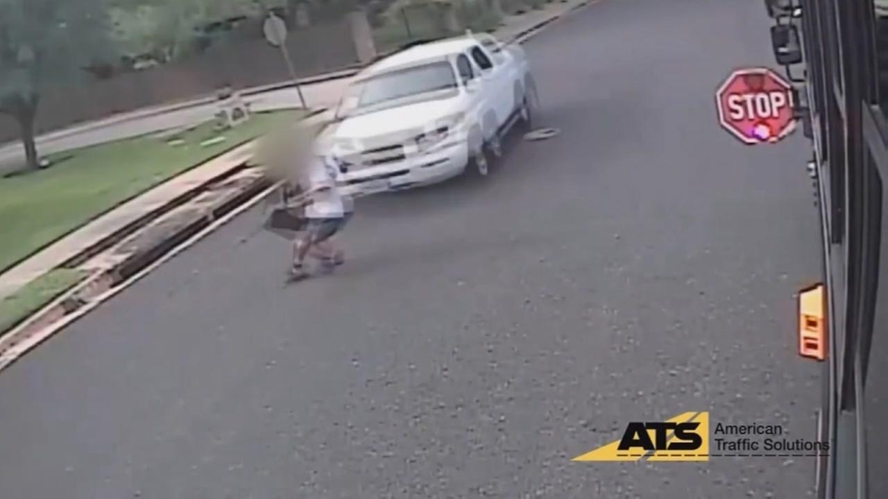 Austin PD releases video of children being hit by cars