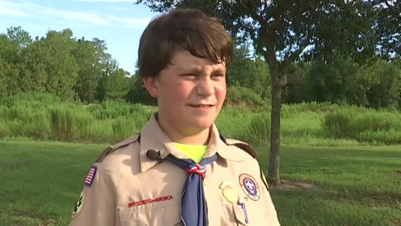 Boy Scout duped
