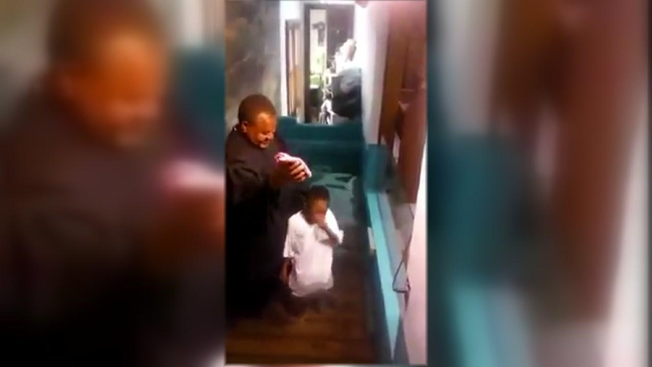 Kid Cant Wait To Be Baptized