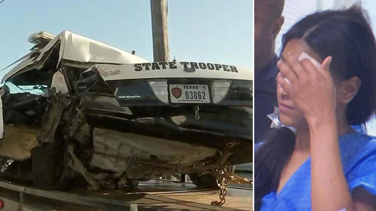 Woman accused of seriously injuring trooper makes first court apperance