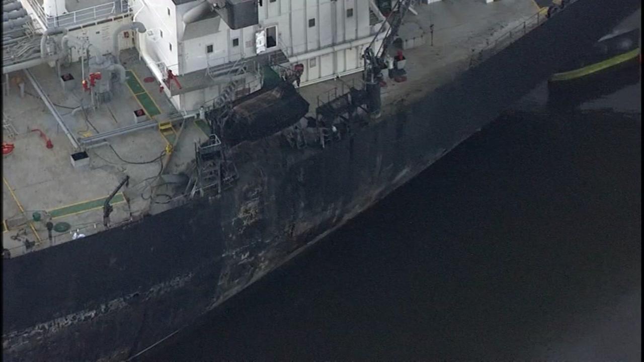 Lynchburg Ferry shut down after ship fire