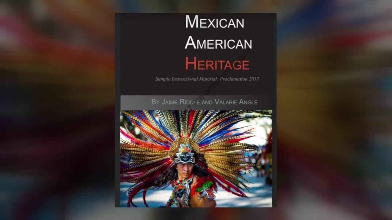 Critics say Mexican American Heritage textbook is racist