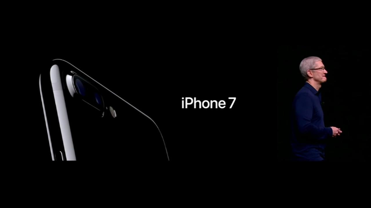 First look at iPhone 7