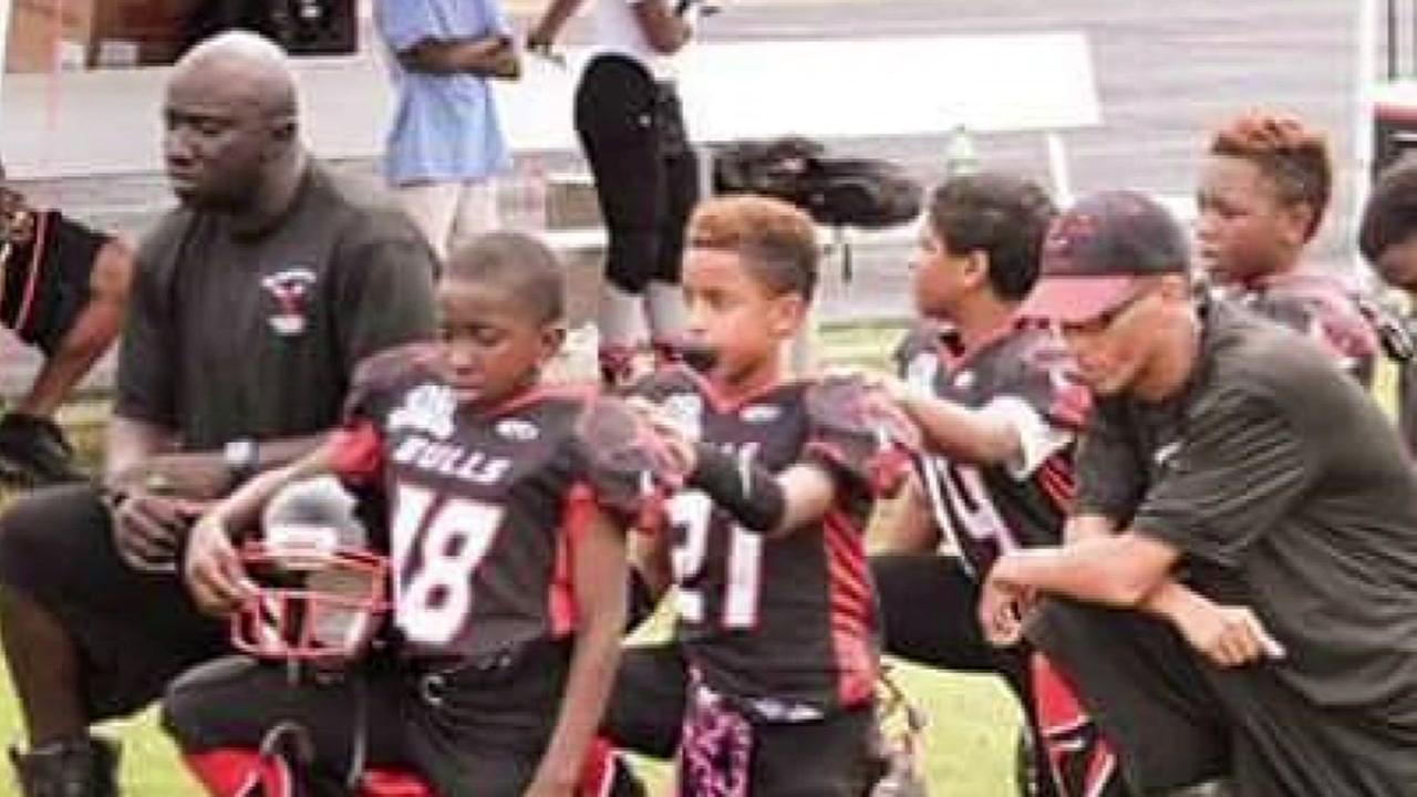 Beaumont youth football team threatened over anthem protest