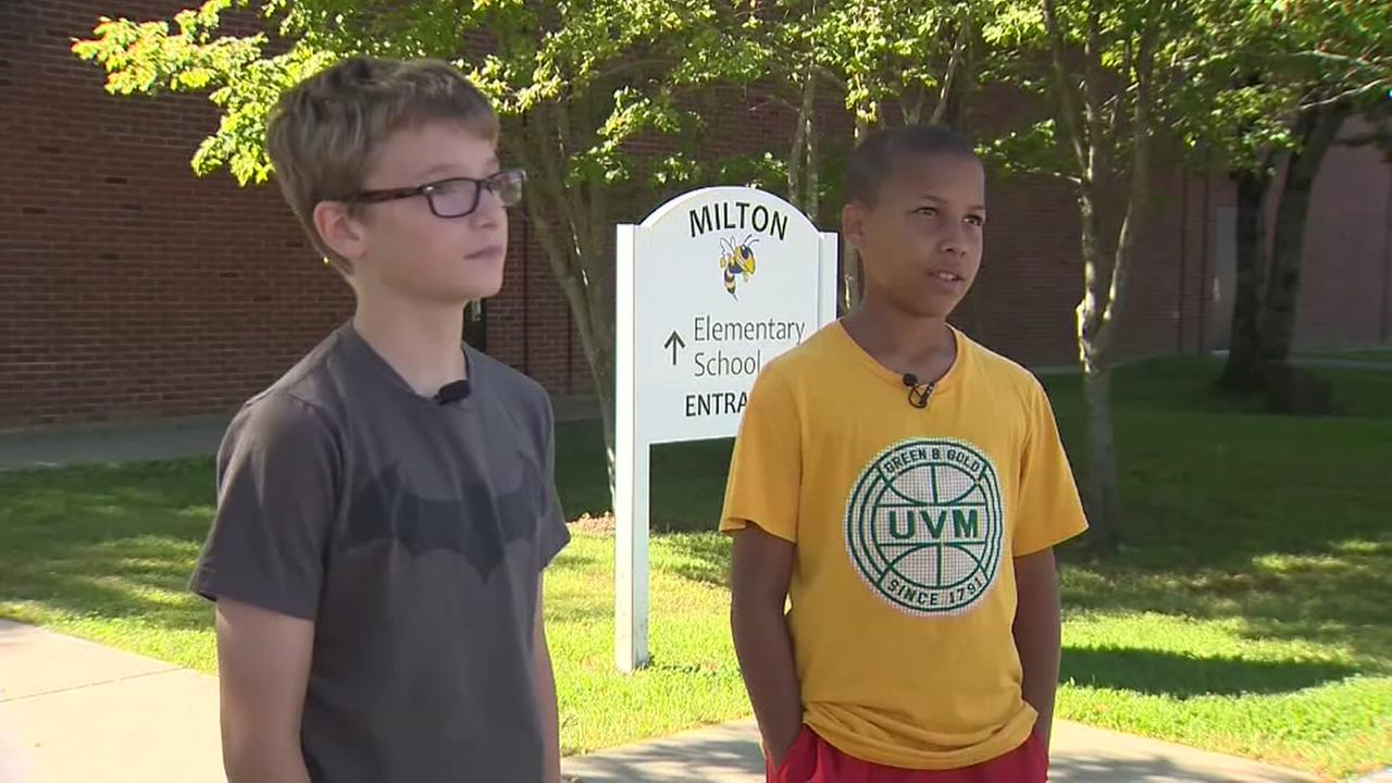 Fifth grader saves friend from choking at school