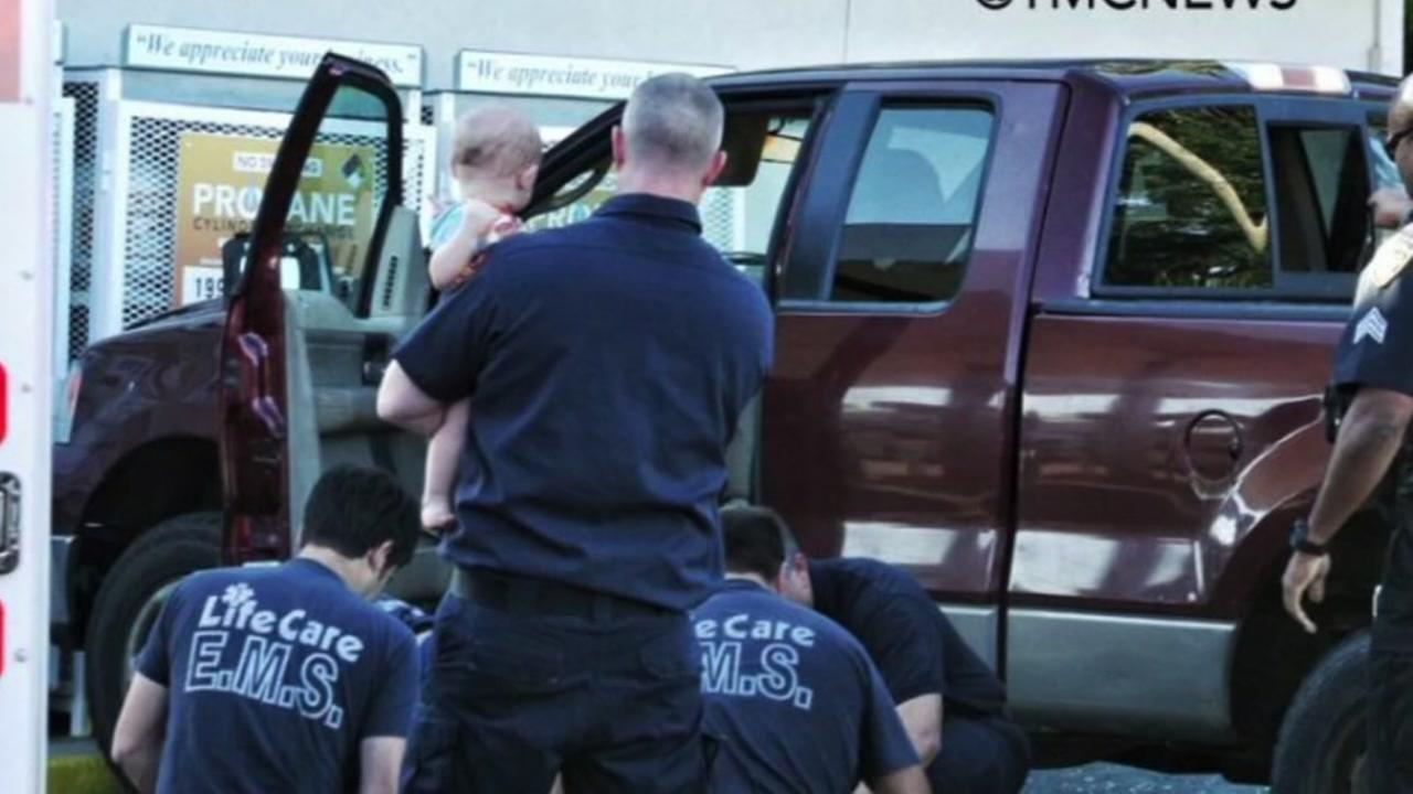 Grandmother overdoses in truck