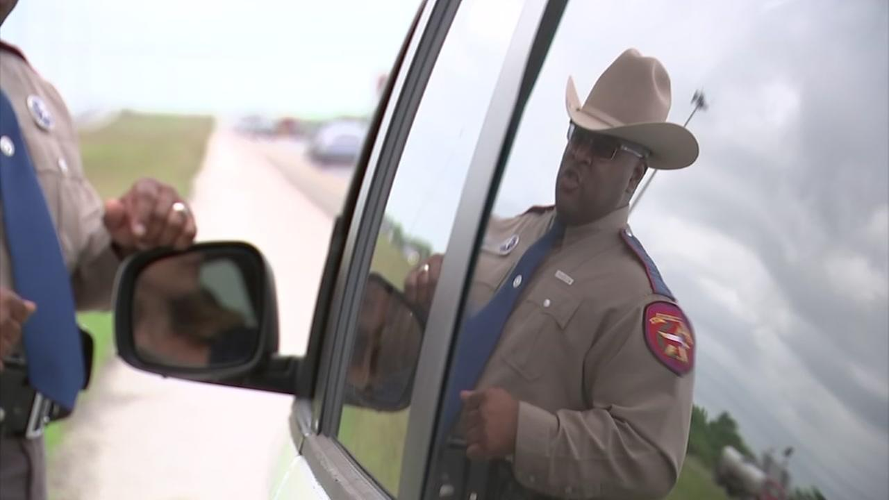 Move over, Texas! Trooper struck by vehicle makes passionate plea.