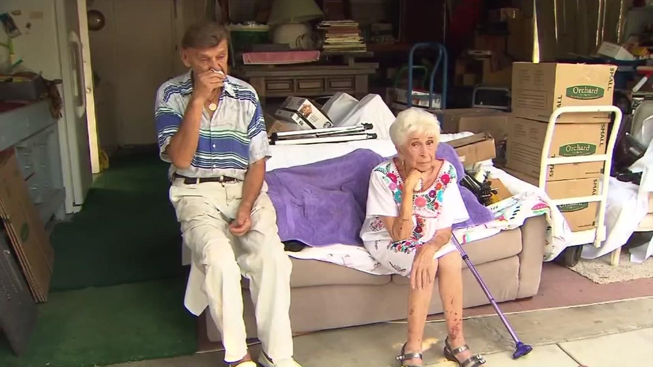 Elderly couple scammed out of home by grandson