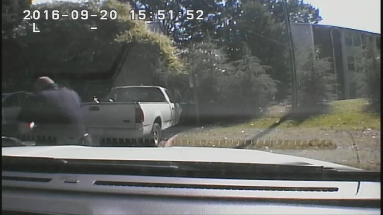 MCPD releases footage of Keith Scott shooting