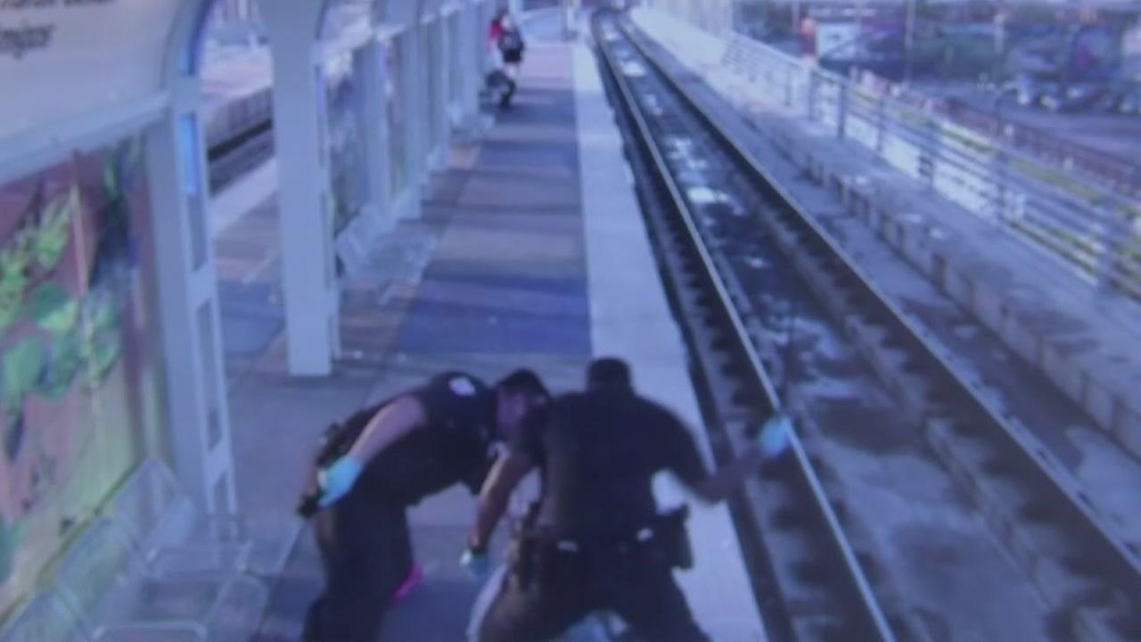 METRO releases video of violent takedown
