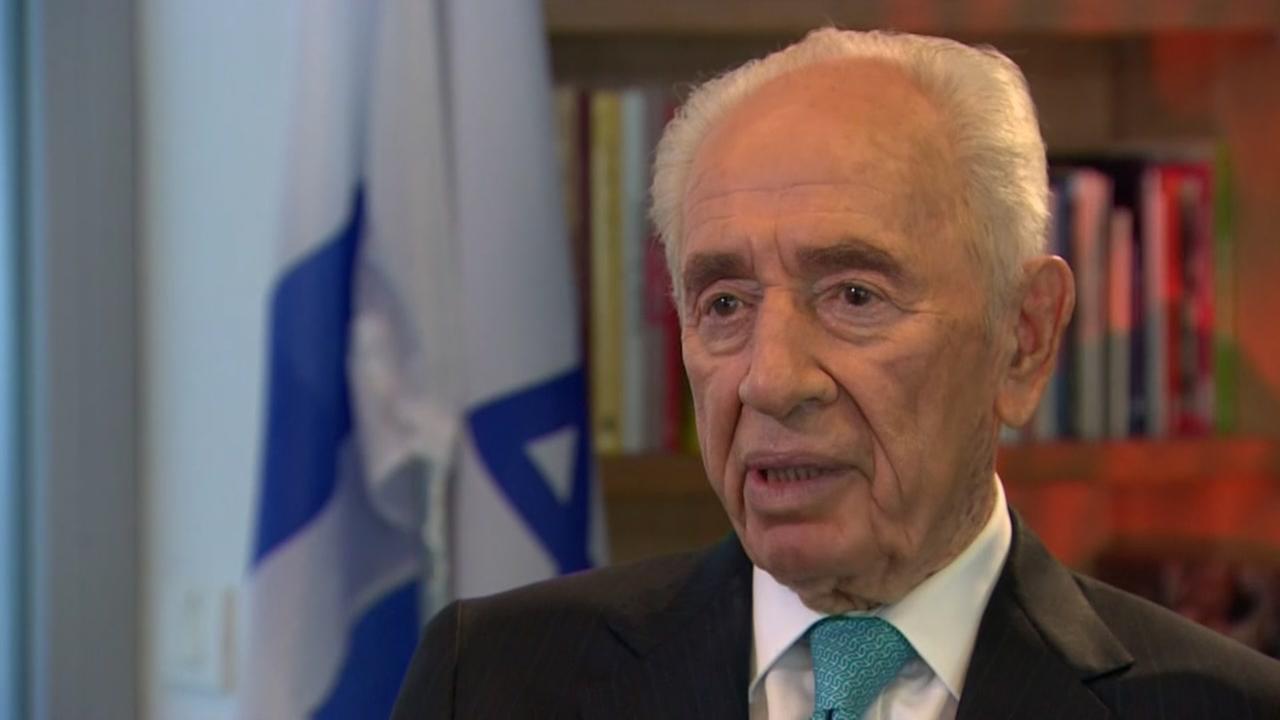 Former Israeli president Shimon Peres has died
