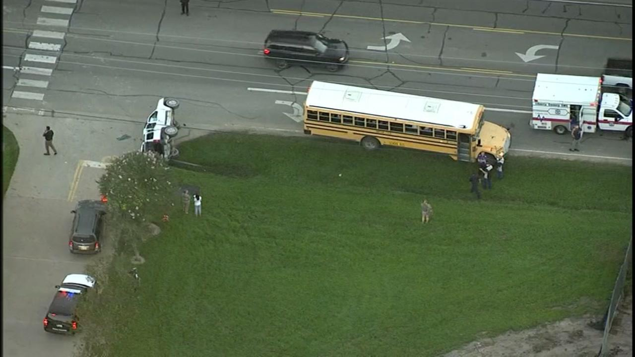 Dayton ISD school bus involved in accident