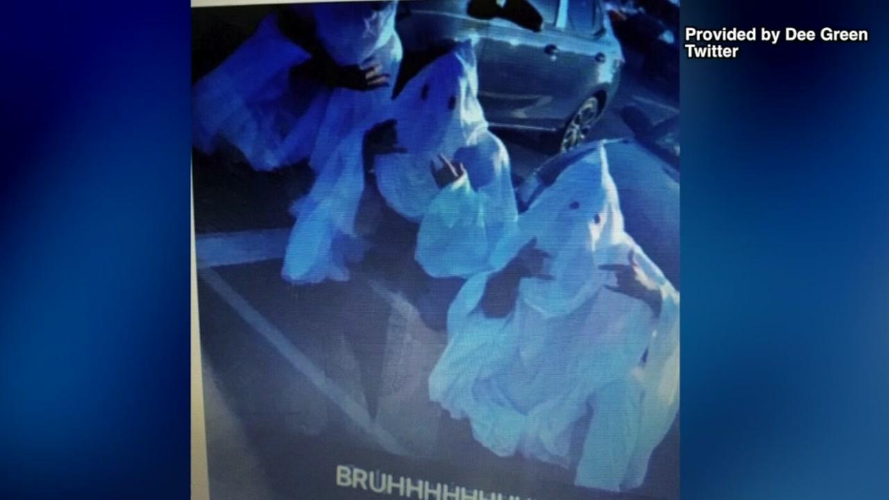 Students punished after wearing KKK costumes to school