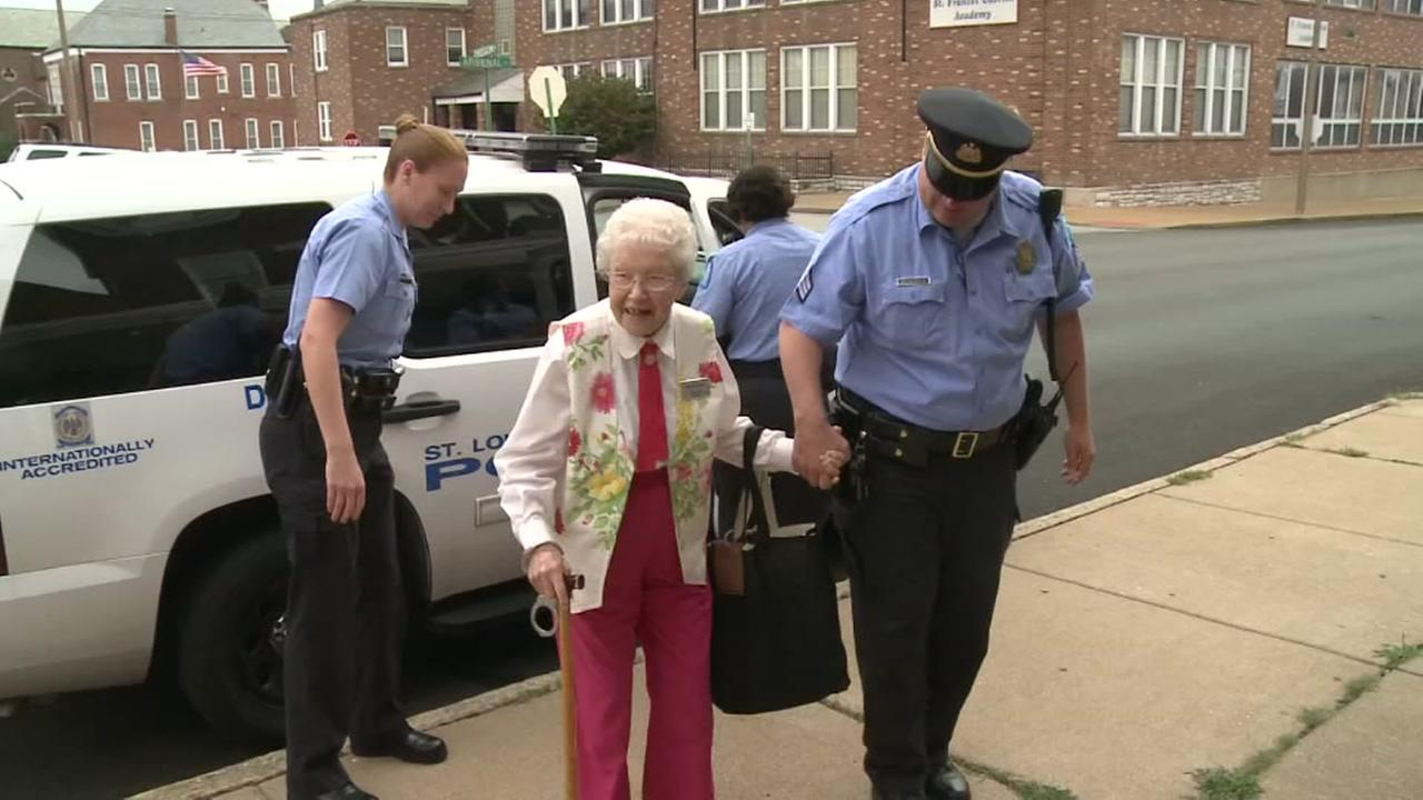 102-year-old crosses Arrest off her bucket list
