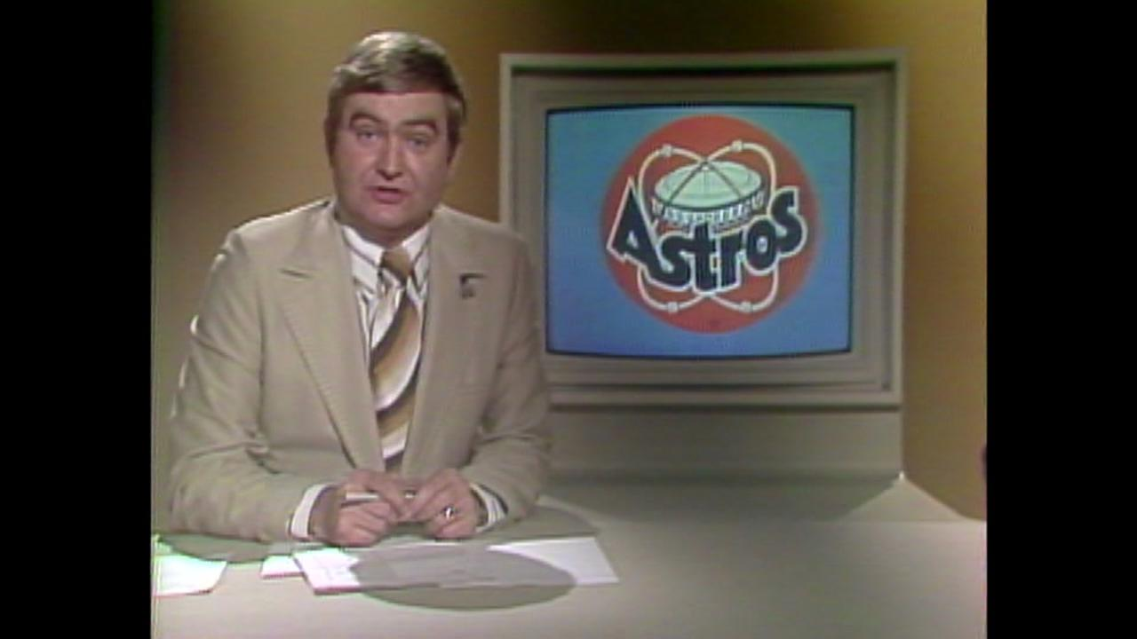 Newscast after Astros clinch division in 1980