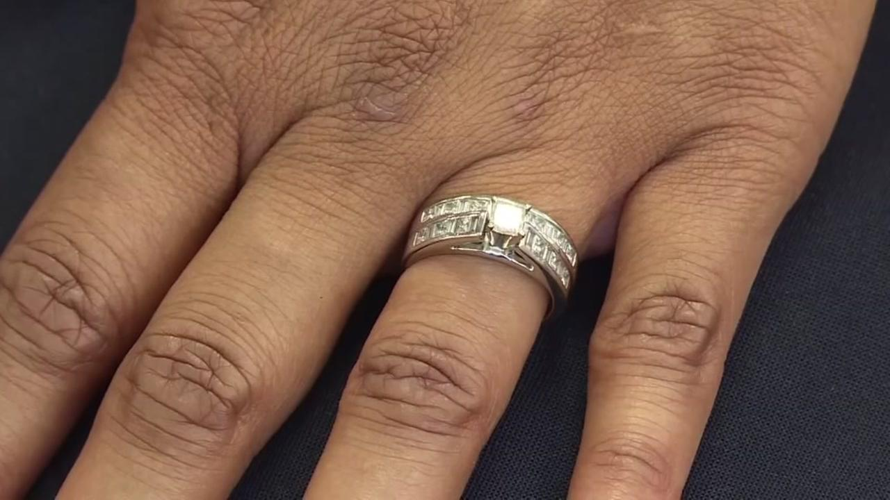 woman gets lost wedding ring back a year later abc13com - Lost Wedding Ring