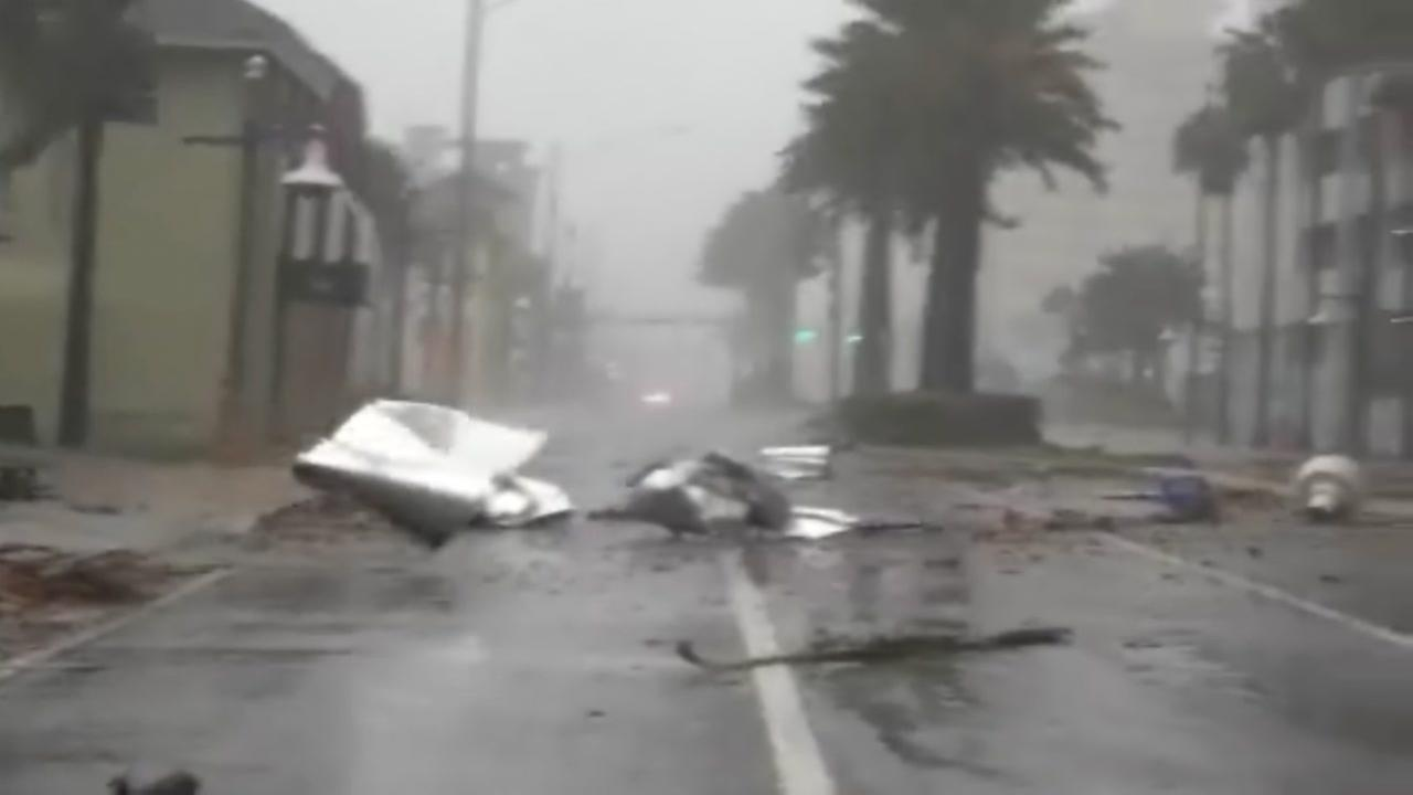 Hurricanae Matthew sams Florida