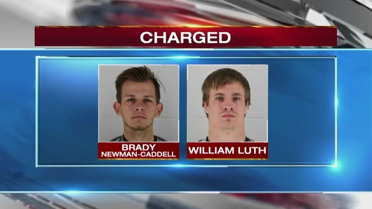 Men charged in deputy rape