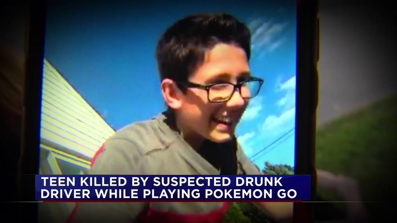 Teen killed while playing Pokemon Go