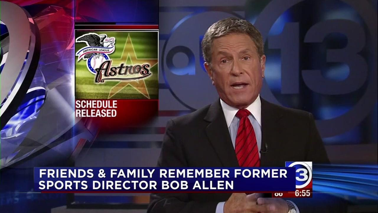 Friends and family remember former ABC13 Sports Director Bob Allen