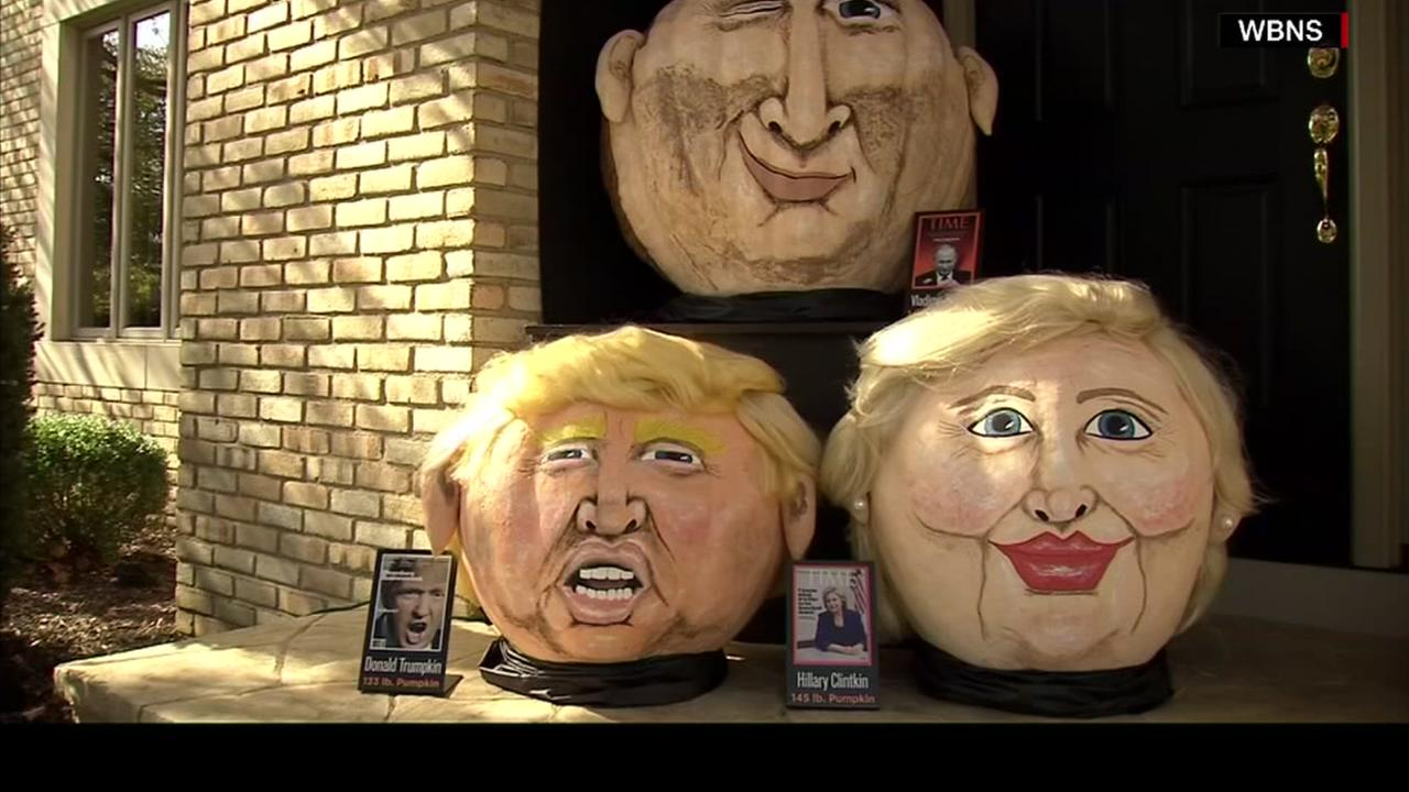 Meet Donald Trumpkin and Hillary Clintkin