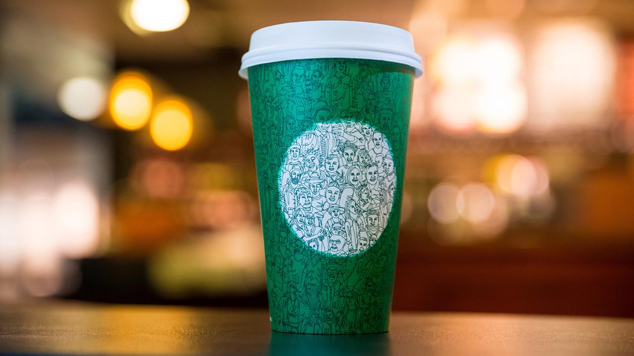 Starbucks rolls out unity cup
