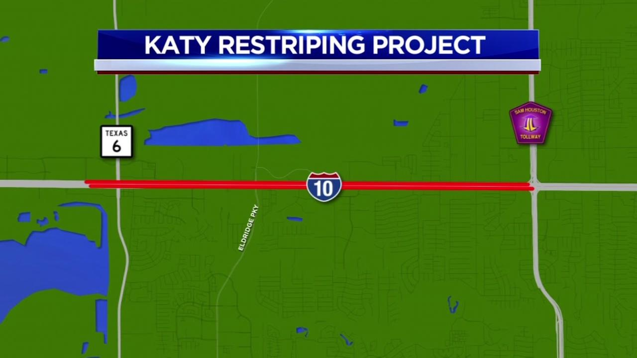 Katy Freeway to get more lanes in west Houston