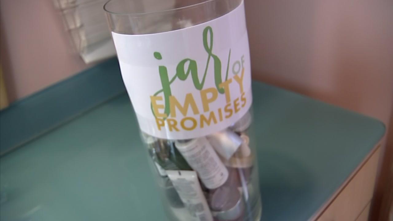 Jar of empty promises