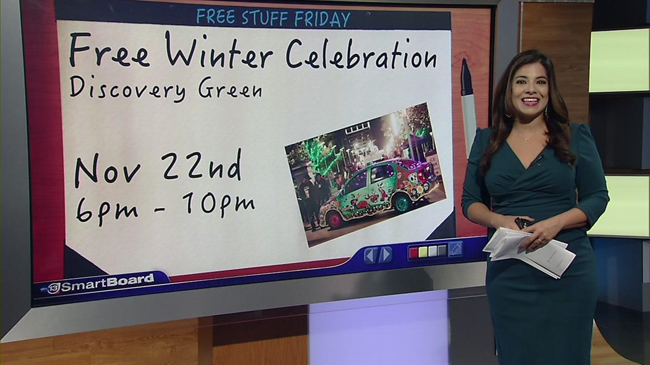 Free Stuff Friday: Holiday fun, entertainment and more!