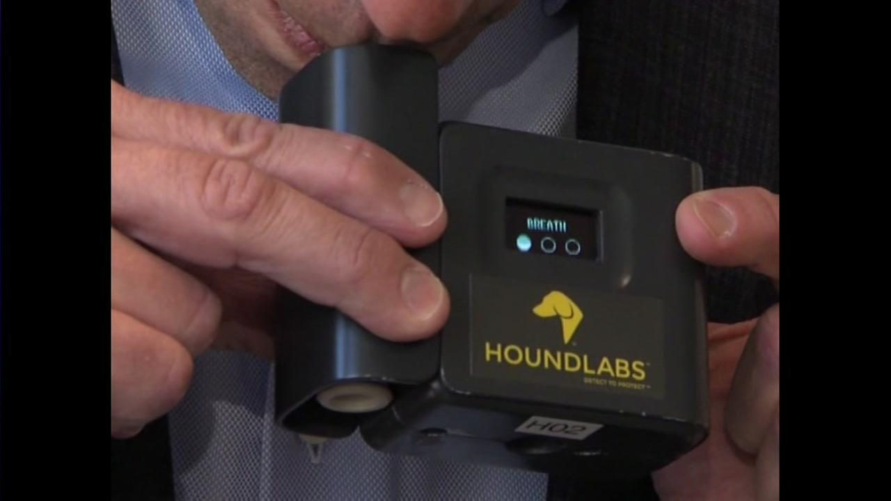 Coming soon to patrol cars: pot breathalyzers
