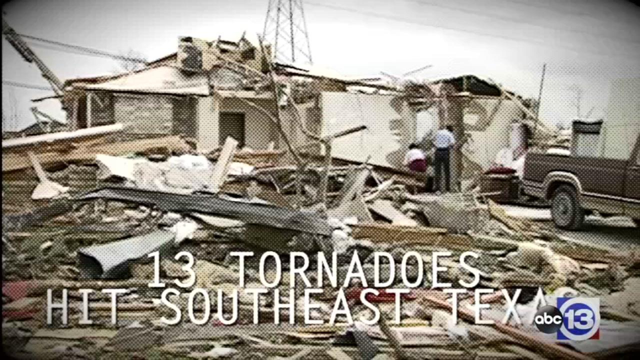 TODAY IN HISTORY: 13 tornadoes strike SE Texas