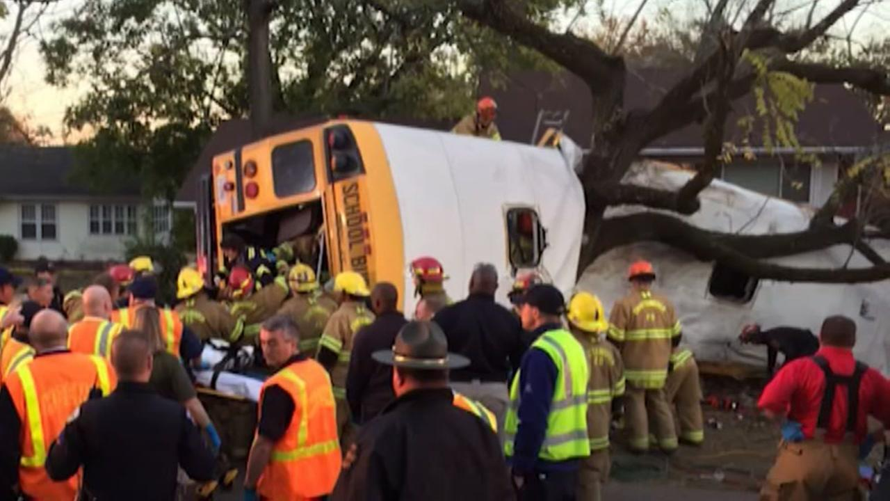 At least 6 children killed in Tennessee bus crash