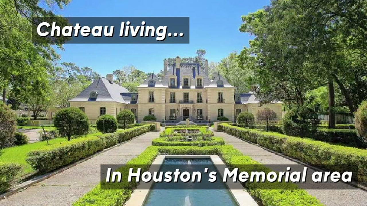This French chateau in Memorial area can be yours for a little under 10-million