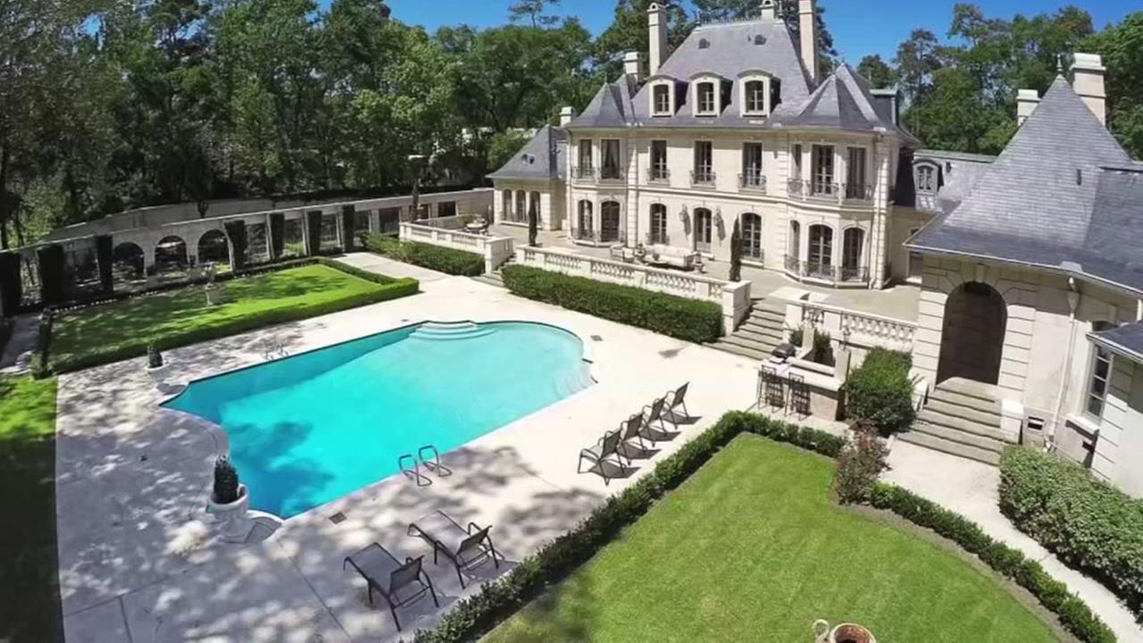 This gorgeous French chateau style home in Memorial could be yours for a little under 10-Million
