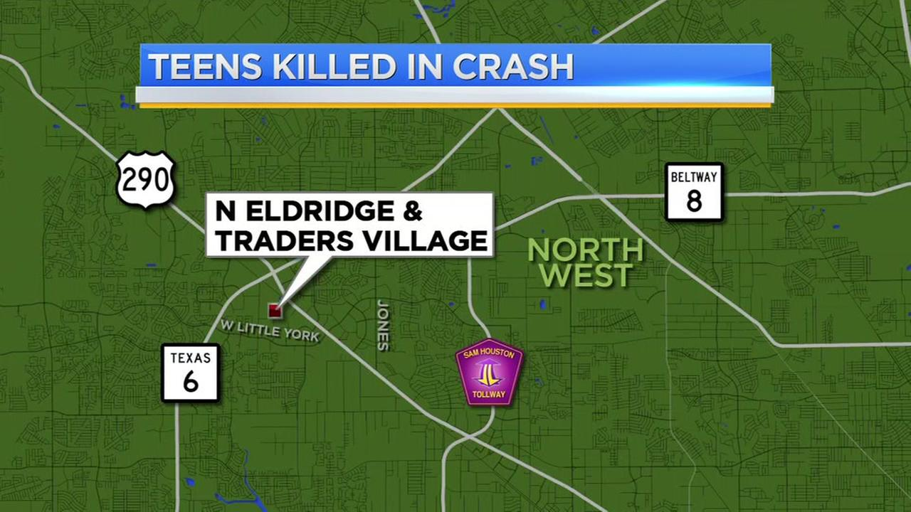 Teens killed in crash
