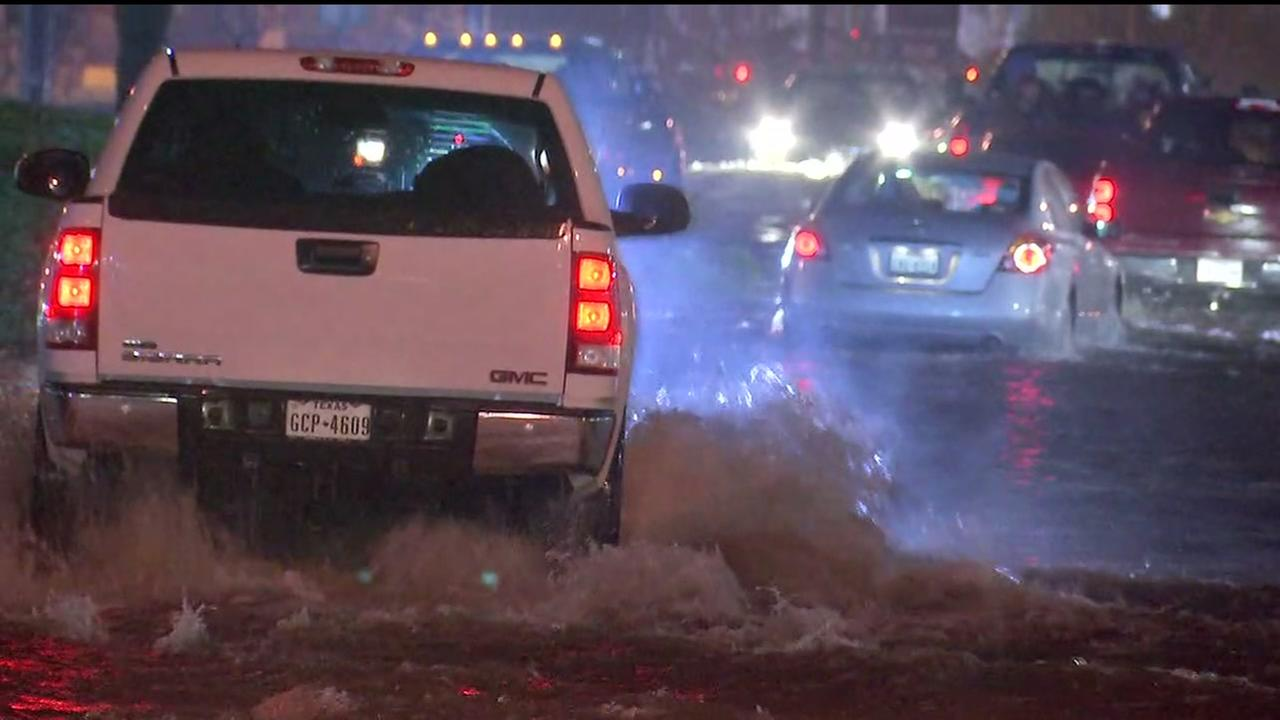 Galveston Co. deals with historic flooding