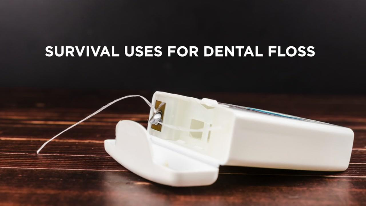 Survival uses for dental floss