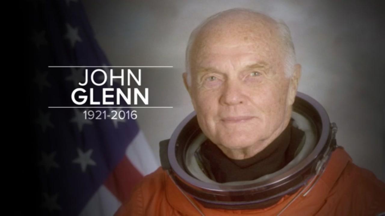 Former astronaut John Glenn dead at 95.