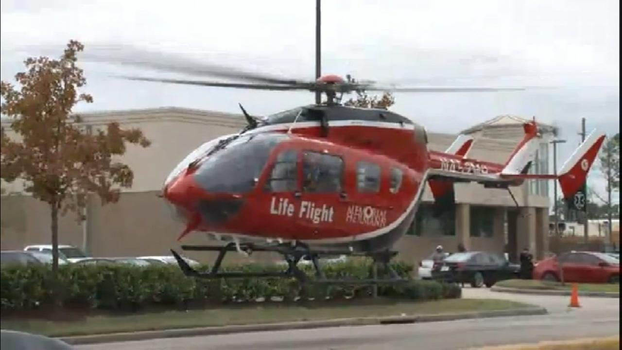 Life Flight 3-yr-old in accident at 1960 and Walters Rd