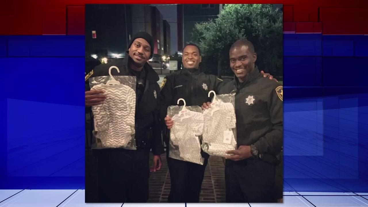 Deputies return stuff stolen by package thief